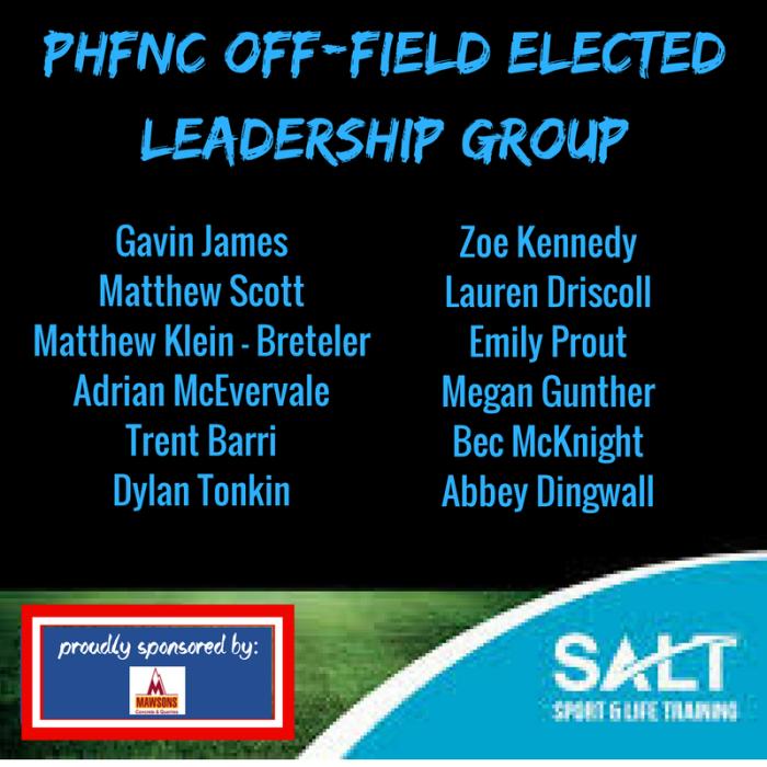 PHFNC Off field leadership group (1)
