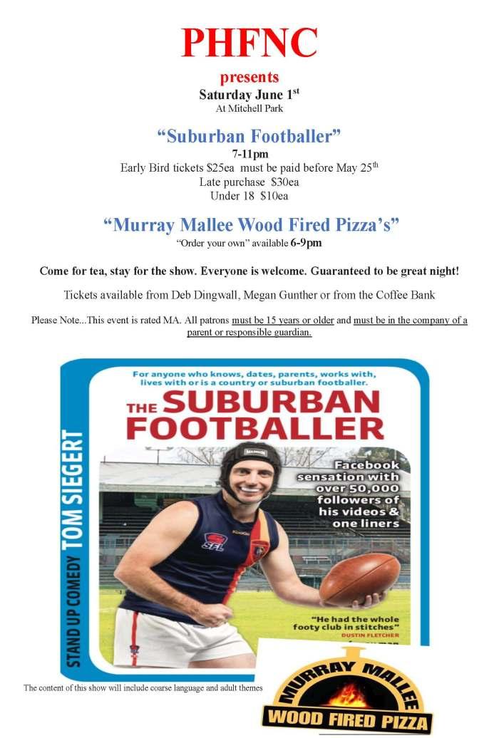 PHFNC Suburban Footballer